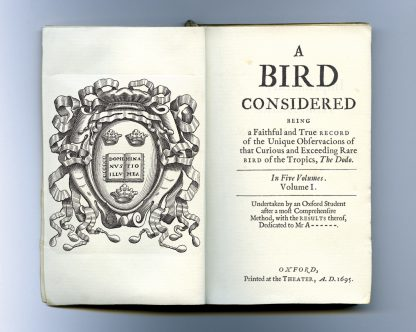 A Dodo at Oxford diary title page