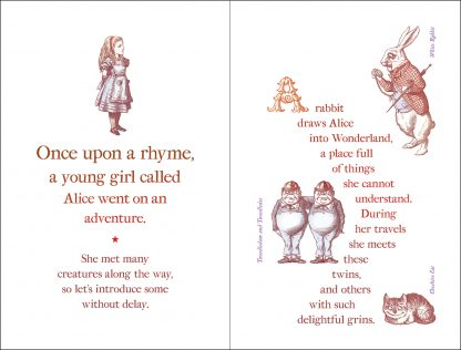 Alice's Alphabet Book pages 4 and 5