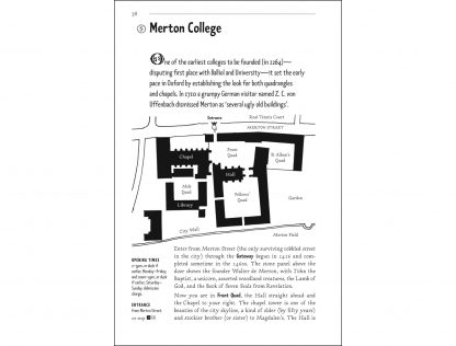 The Pocket Guide to Oxford page 38