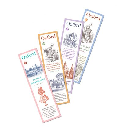 'Oxford & Alice' series: 4 bookmark pack